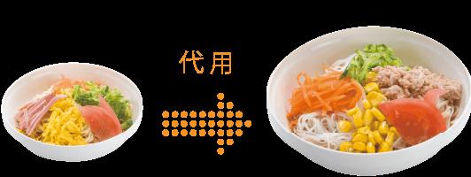 冷やし中華[小麦・卵 不使用]