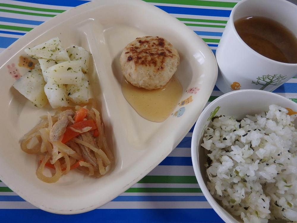 菜めしごはん 和風炒り豆腐の包み焼き